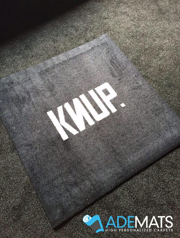 gepersonaliseerde tapijt op maat